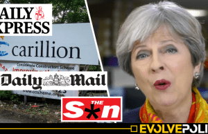 Right-wing newspapers conveniently omit the biggest news story in Britain from front pages