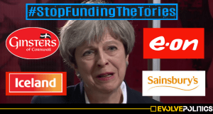 Stop Funding The Tories