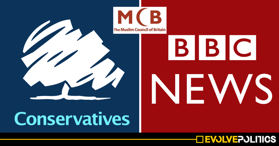BBC silent as Muslim Council of Britain calls for