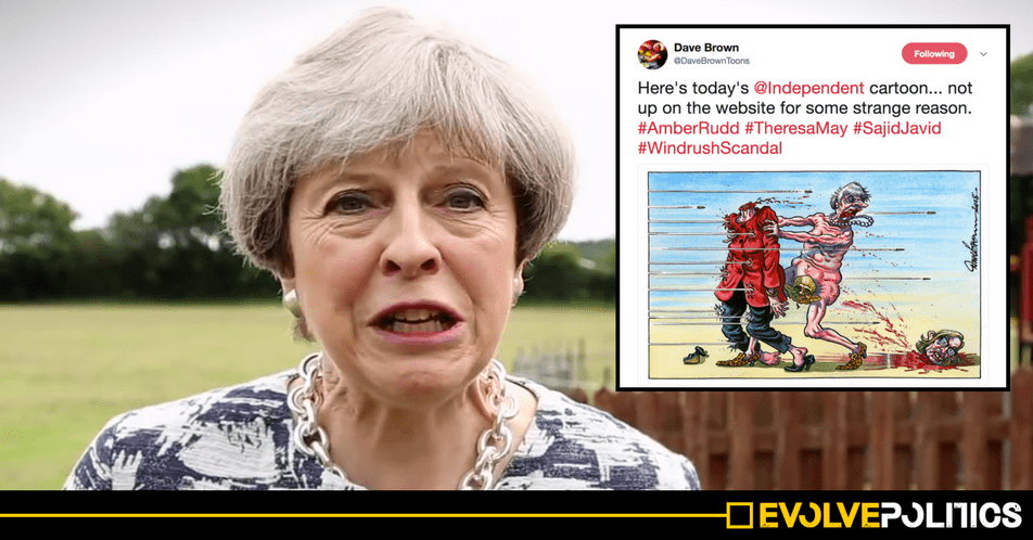 These 3 incredible political cartoons show just how close Theresa May is to toppling