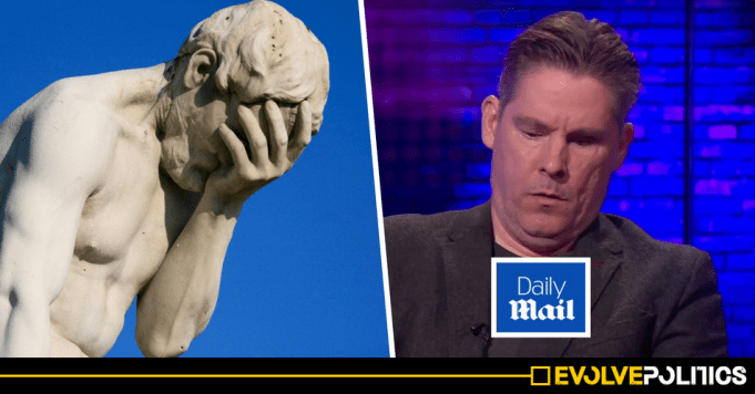 Daily Mail Hack Dan Hodges suffers hilarious humiliation after trying to slate Corbyn yet again