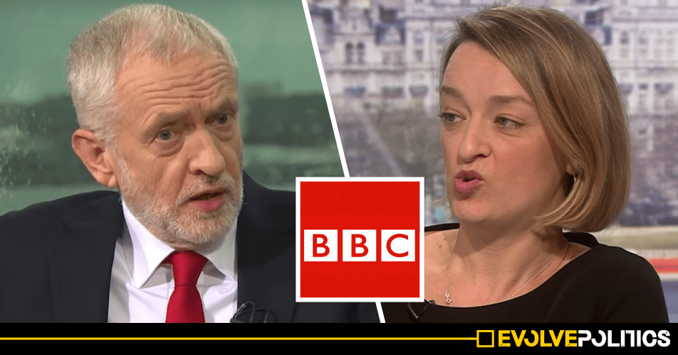 BBC Political Editor Laura Kuenssberg retweets COMPLETELY FAKE Jeremy Corbyn antisemitism smear and refuses to retract it