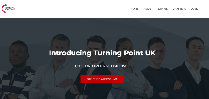 Turning Point UK Spoof Website 1