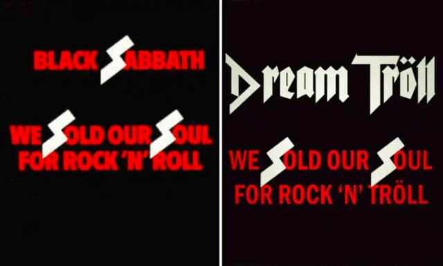 Dream Tröll Black Sabbath Nazi SS Richard Burgon