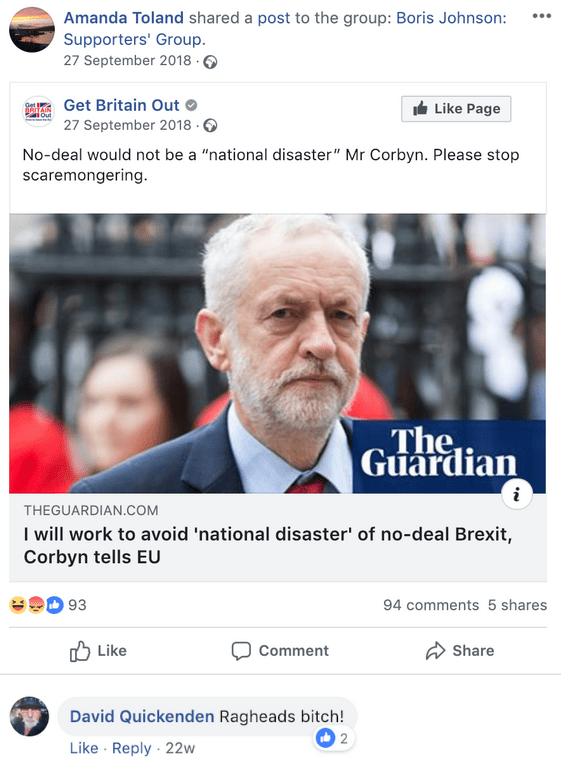Boris Johnson Supporters' Group
