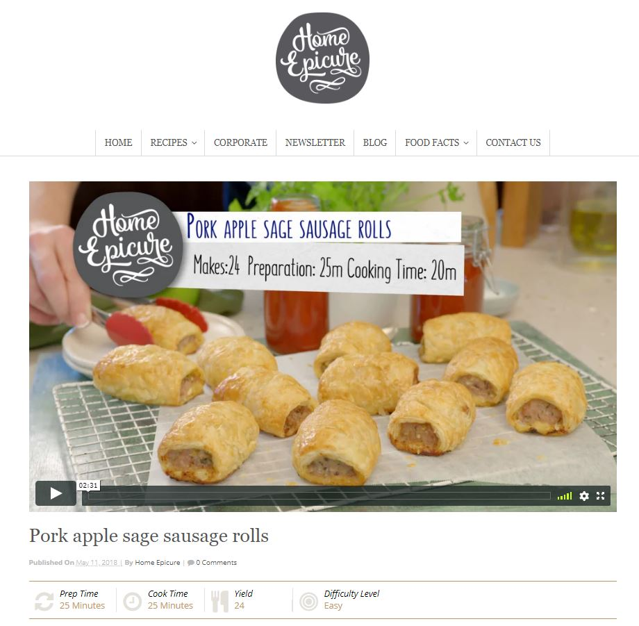 Home Epicure Recipe