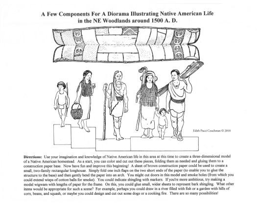 EB Native American Diorama 1500 A. D.