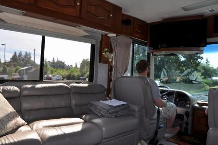 Test drive before buying an RV