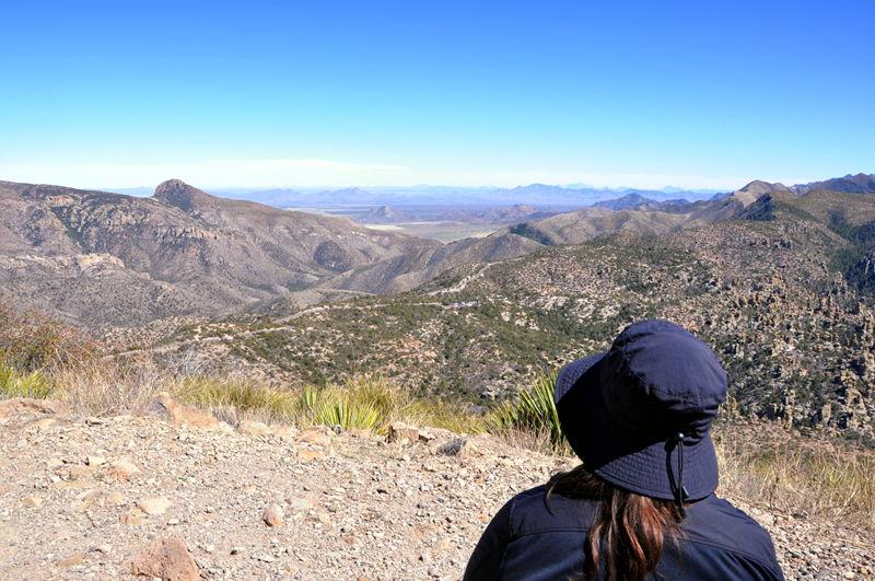 Mountain views in Arizona.