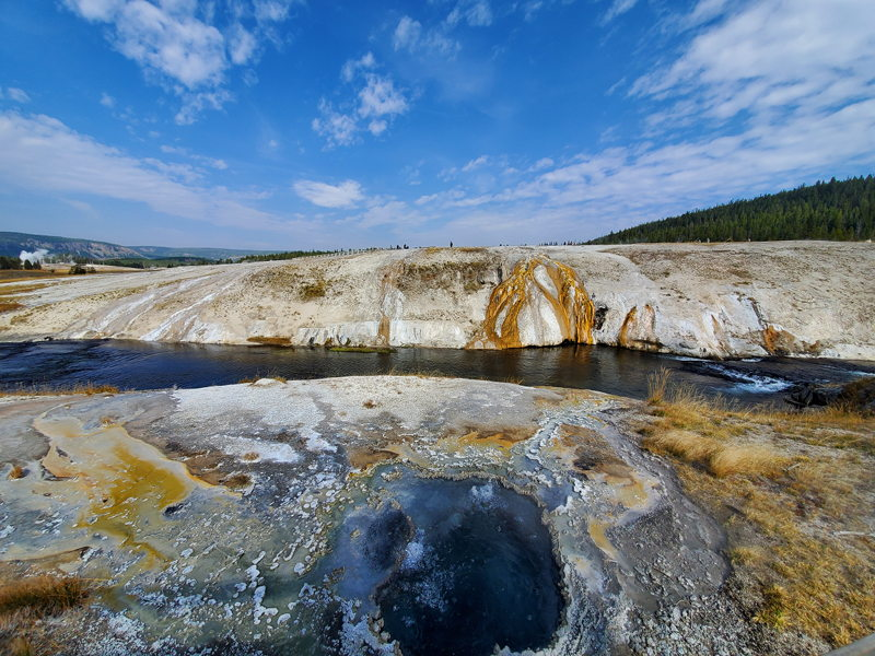 Chinese Spring near Old Faithful in Yellowstone NP.