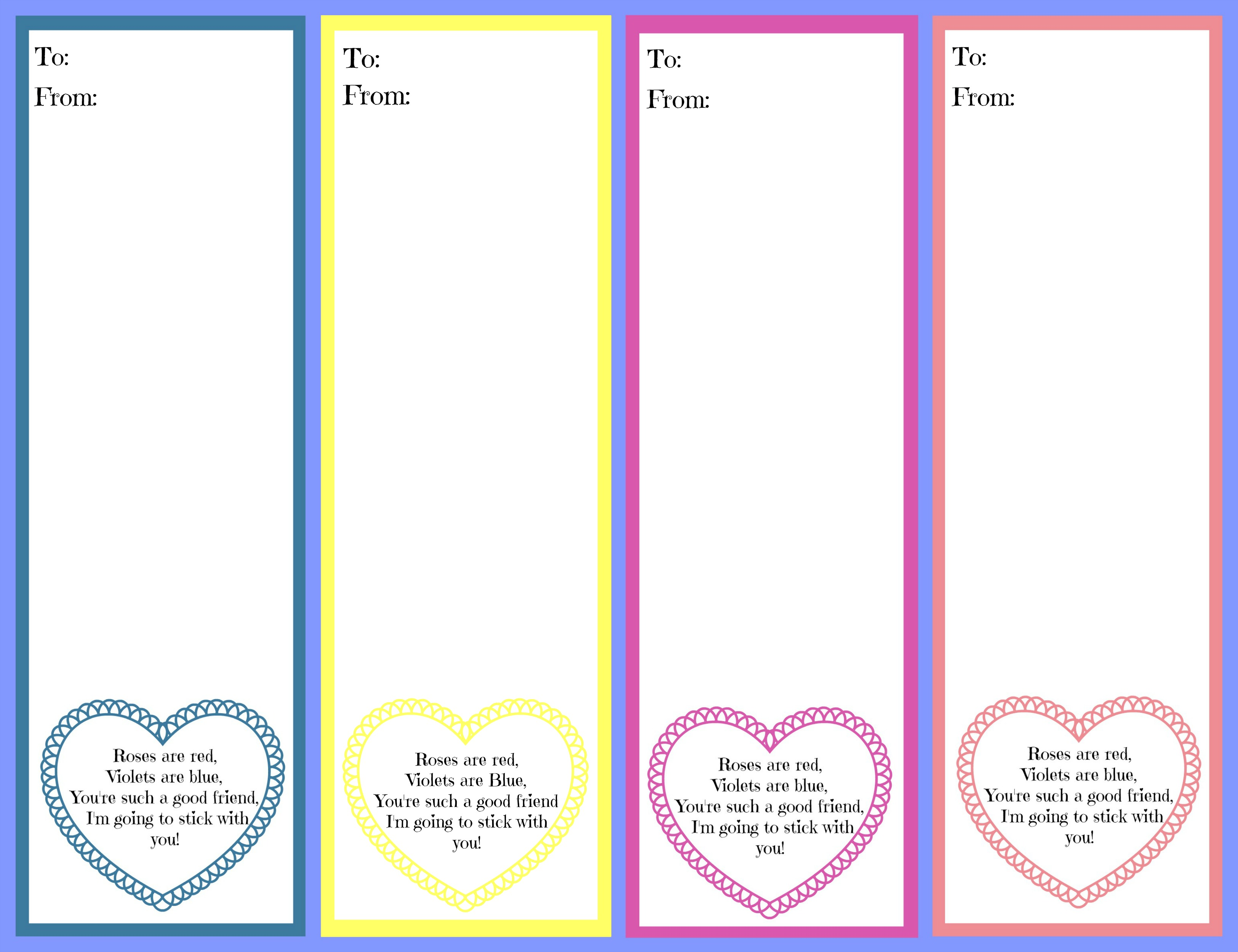 Printable Fun And Free Valentine S Day Cards