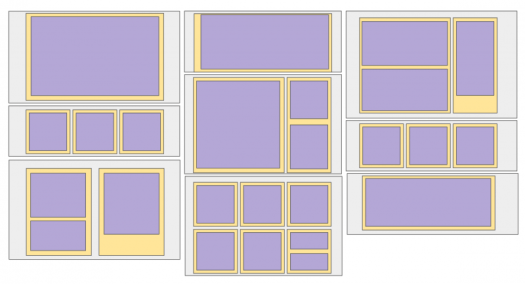 Diagram showing how Layout Builder can be used