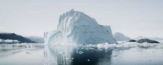 Iceberg, representing Cludo's marketing