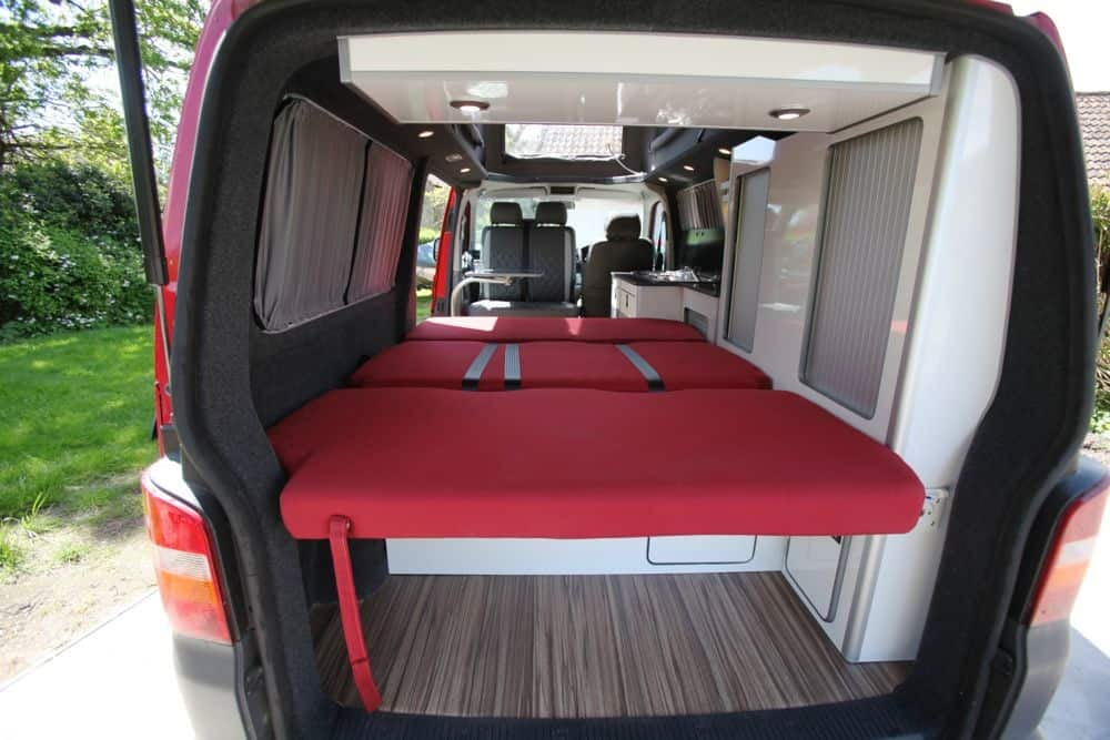Conversion Gallery Vw T5 Campers Kitchen Pods Flat