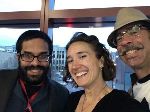 AAA 2016 Roomies: Marc Kissel, Michaela Howells, Chris Lynn. Photo by Michaela Howells.
