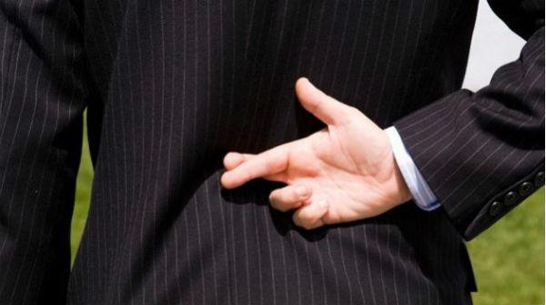 გადაჯვარედინებული თითები