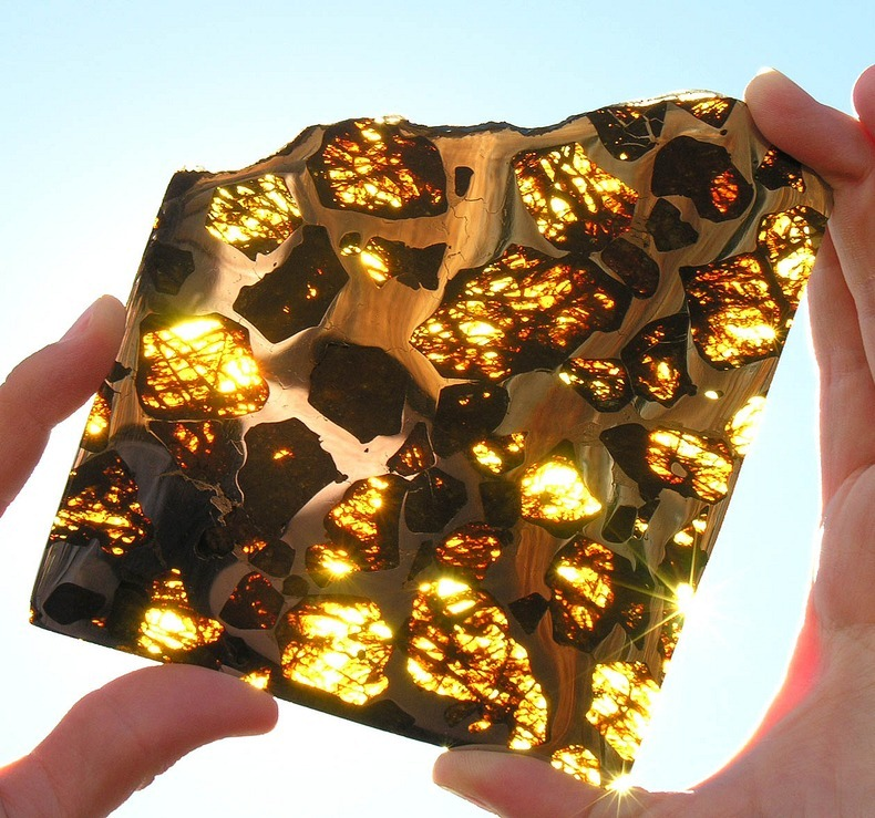 The Beautiful Fukang Meteorite