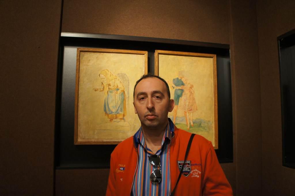 Фрески Бруно Шульца во Дворце искусств, г.Дрогобыч.