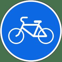 Дорожный знак 4.4.1 Велосипедная дорожка или полоса для велосипедистов