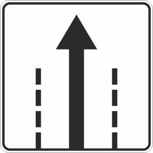 Дорожный знак 5.36д Направления движения на следующем перекрестке