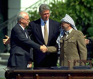 Image result for арафат перес рабин