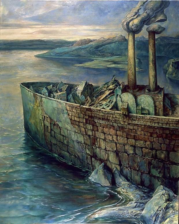 samuel bak 004 Холокост в еврейских картинах Самуила Бака (Samuel Bak)