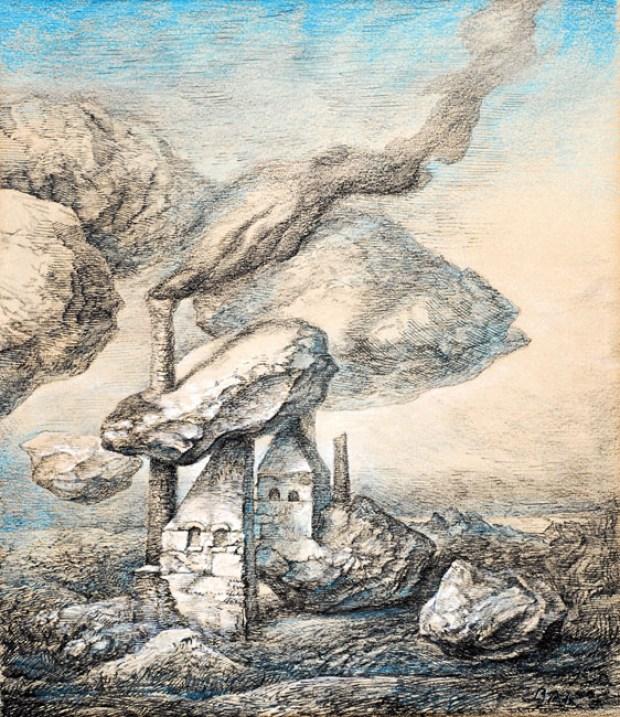 samuel bak 012 Холокост в еврейских картинах Самуила Бака (Samuel Bak)