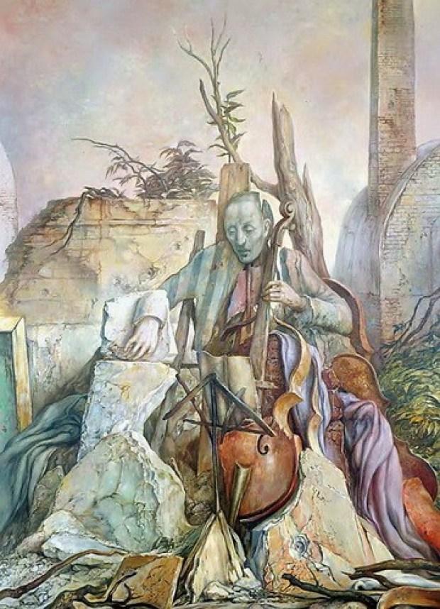 samuel bak 014 Холокост в еврейских картинах Самуила Бака (Samuel Bak)