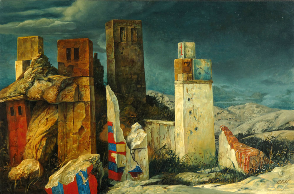 samuel bak 015 Холокост в еврейских картинах Самуила Бака (Samuel Bak)