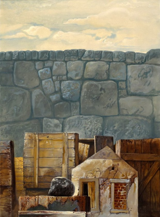samuel bak 016 Холокост в еврейских картинах Самуила Бака (Samuel Bak)
