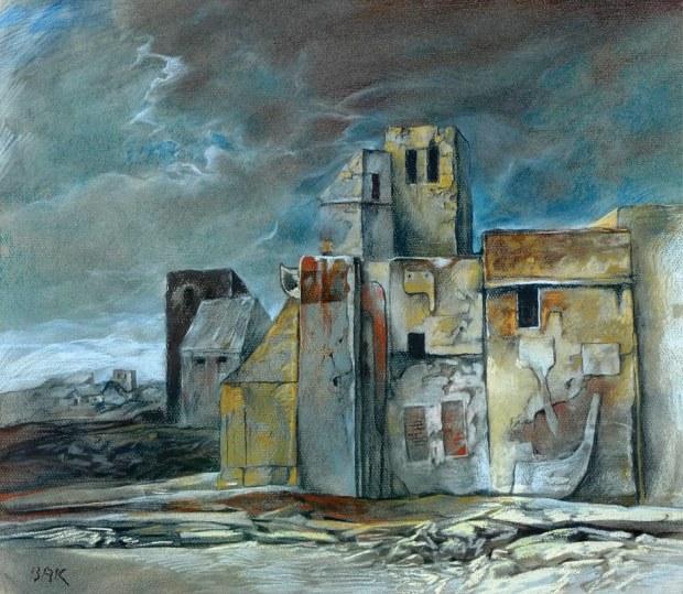samuel bak 017 Холокост в еврейских картинах Самуила Бака (Samuel Bak)