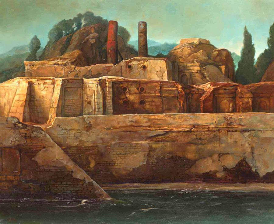 samuel bak 020 Холокост в еврейских картинах Самуила Бака (Samuel Bak)