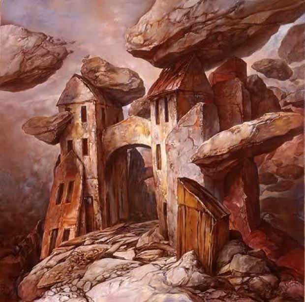 samuel bak 022 Холокост в еврейских картинах Самуила Бака (Samuel Bak)