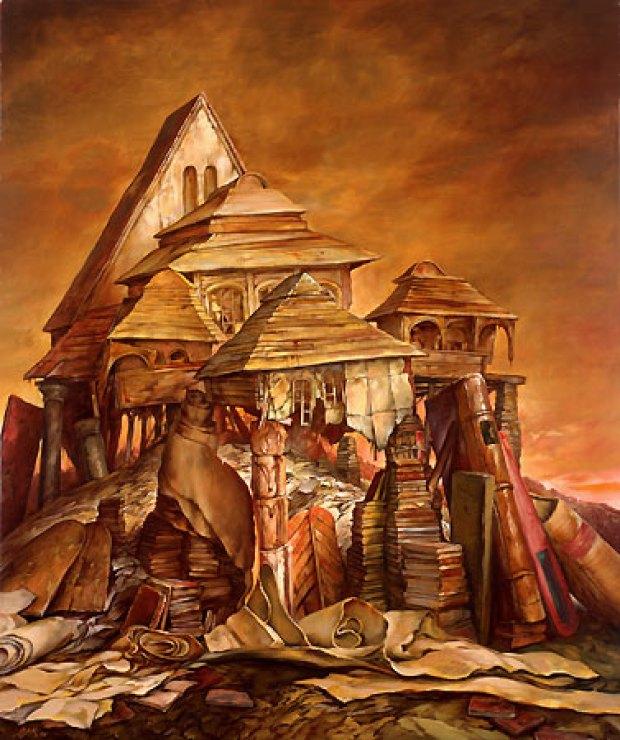samuel bak 027 Холокост в еврейских картинах Самуила Бака (Samuel Bak)