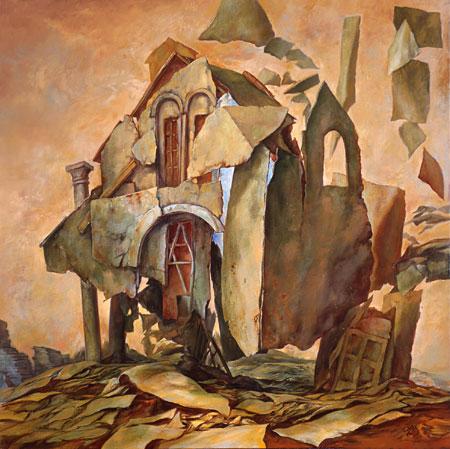 samuel bak 029 Холокост в еврейских картинах Самуила Бака (Samuel Bak)