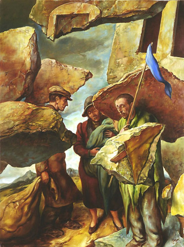 samuel bak 033 Холокост в еврейских картинах Самуила Бака (Samuel Bak)
