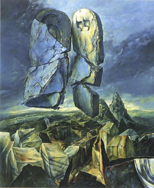 samuel bak 043 Холокост в еврейских картинах Самуила Бака (Samuel Bak)
