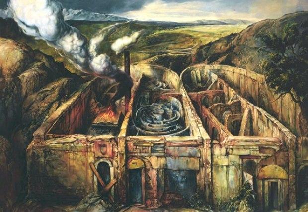 samuel bak 044 Холокост в еврейских картинах Самуила Бака (Samuel Bak)