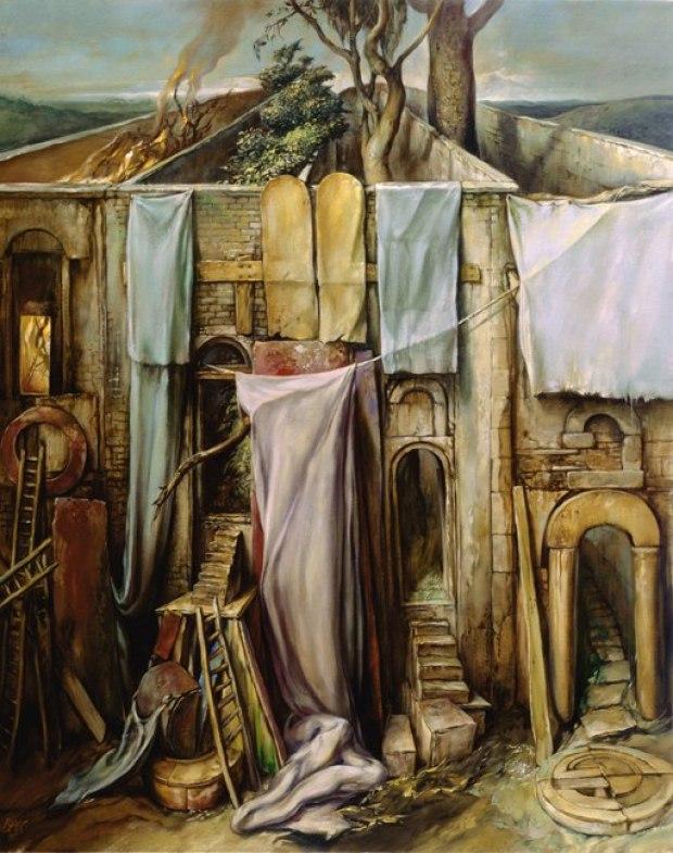 samuel bak 050 Холокост в еврейских картинах Самуила Бака (Samuel Bak)