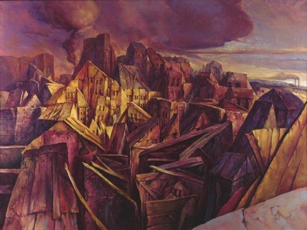 samuel bak 052 Холокост в еврейских картинах Самуила Бака (Samuel Bak)
