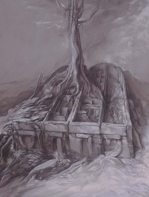 samuel bak 054 Холокост в еврейских картинах Самуила Бака (Samuel Bak)