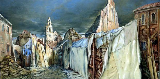 samuel bak 060 Холокост в еврейских картинах Самуила Бака (Samuel Bak)