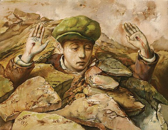 samuel bak 063 Холокост в еврейских картинах Самуила Бака (Samuel Bak)