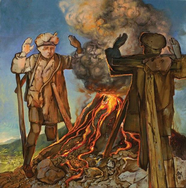 samuel bak 064 Холокост в еврейских картинах Самуила Бака (Samuel Bak)