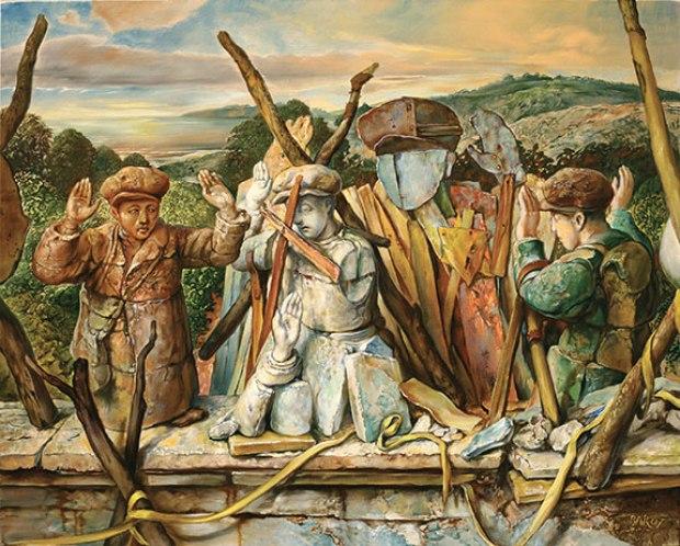 samuel bak 066 Холокост в еврейских картинах Самуила Бака (Samuel Bak)