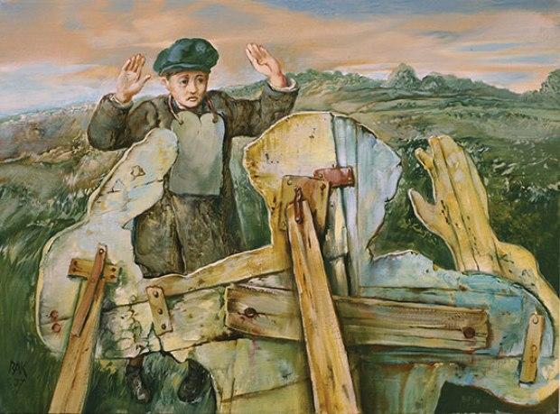 samuel bak 068 Холокост в еврейских картинах Самуила Бака (Samuel Bak)