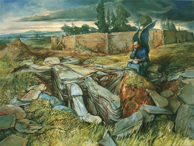 samuel bak 069 Холокост в еврейских картинах Самуила Бака (Samuel Bak)