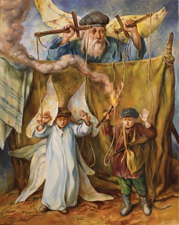 samuel bak 072 Холокост в еврейских картинах Самуила Бака (Samuel Bak)