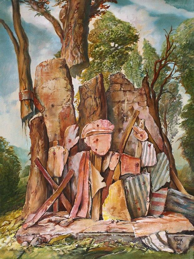 samuel bak 078 Холокост в еврейских картинах Самуила Бака (Samuel Bak)