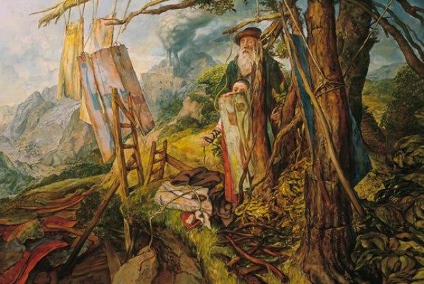 samuel bak 080 Холокост в еврейских картинах Самуила Бака (Samuel Bak)